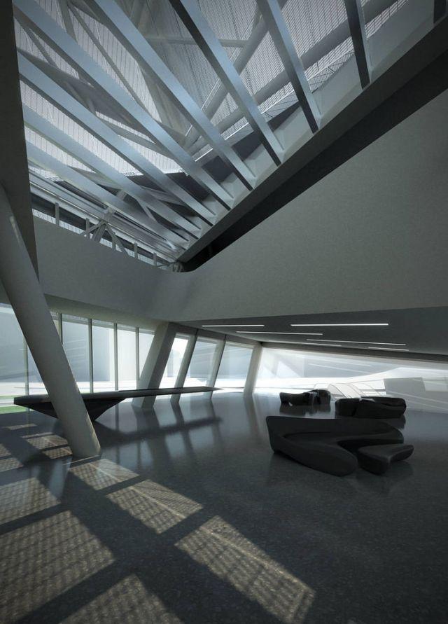 EuskoTren Headquarters by Zaha Hadid
