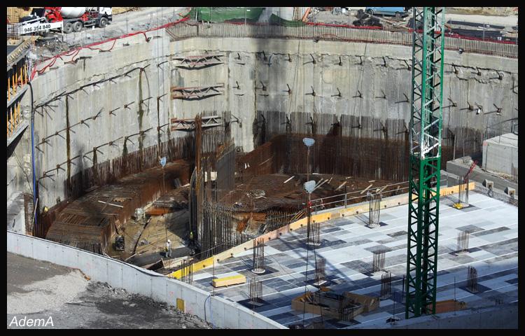 Obras Torre Iberdrola Final Agosto 08 AdemA