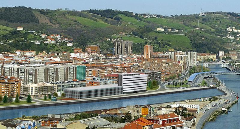 Residencial Inbisa Deusto Infografía Bilbao