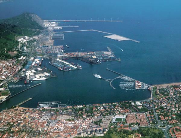 Bilbao port 2006