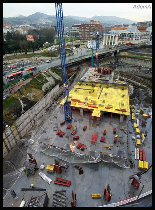 Obras Plaza Euskadi AdemA
