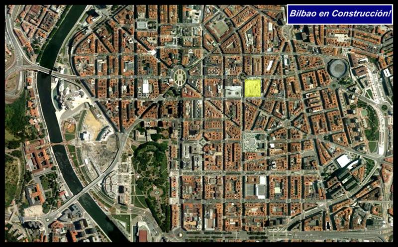 Alhóndiga Ensanche Satélite Google Earth