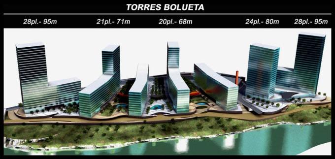 Alturas Bilbao en construcción y arkimia