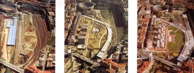 Evolución 97-98-99 Amézola Bilbao Ria 2000