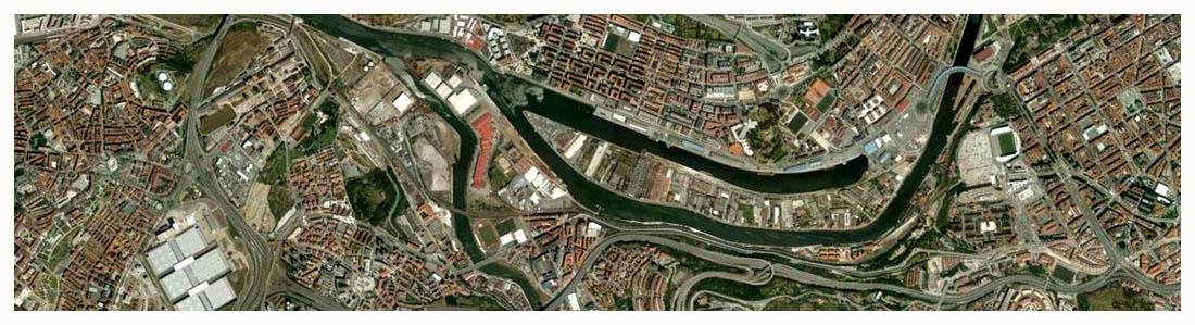 Ría de Bilbao Google Earth