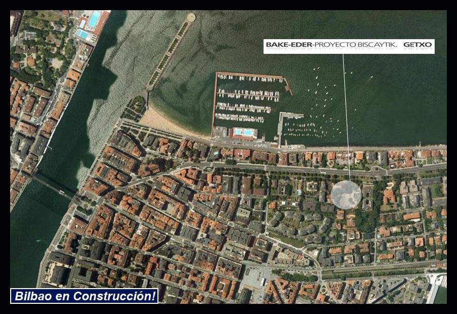 Biscaytik Getxo Diputación Foral de Bizkaia Google Earth