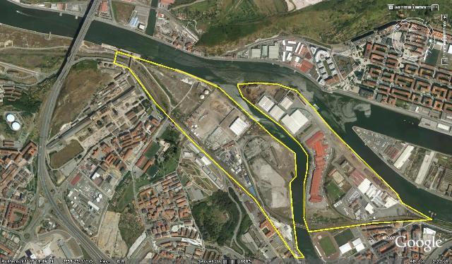 Burtzeña Zorroza Google Earth