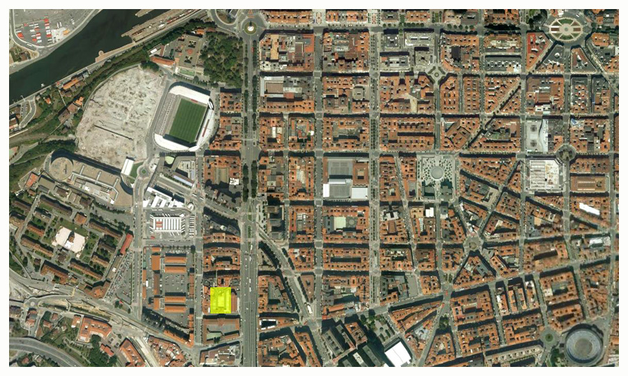 Situación CMD Zankoeta Google Earth