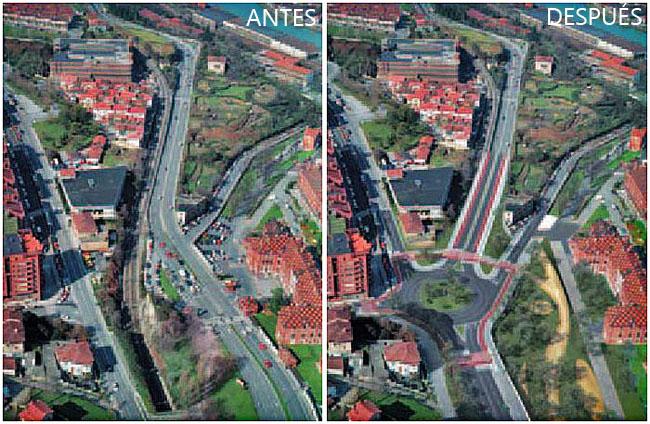 Nuevas Estación Basurto FEVE Bilbao Ría 2000