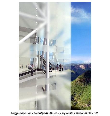 Plataforma Arquitectura Guggenheim Guadalajara