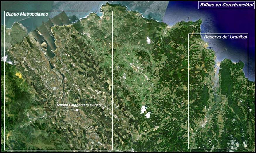 AdemA Google Earth Guggenheim Urdaibai