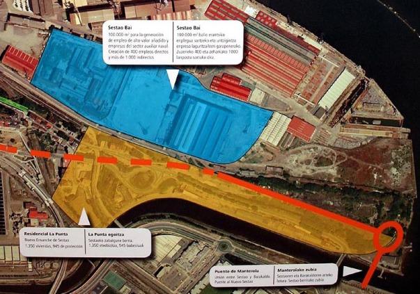 Proyecto Sestao Bai y La Punta Sestao Ayuntamiento Sestao