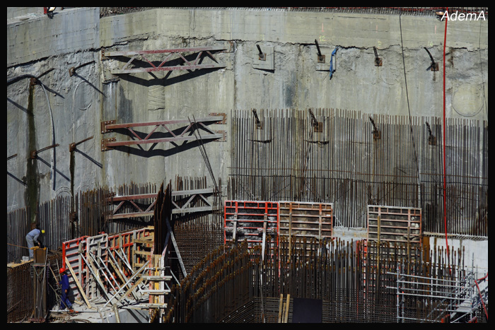 Obras Torre Iberdrola Septiembre 08 AdemA
