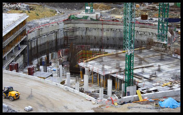 Obras octubre 2008 Torre Iberdrola AdemA