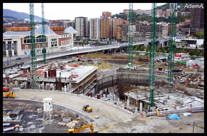 Obras Torre Iberdrola octubre 08 AdemA