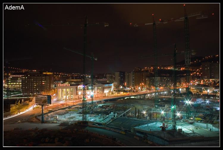 Torre Iberdrola Obras Diciembre 2008 AdemA