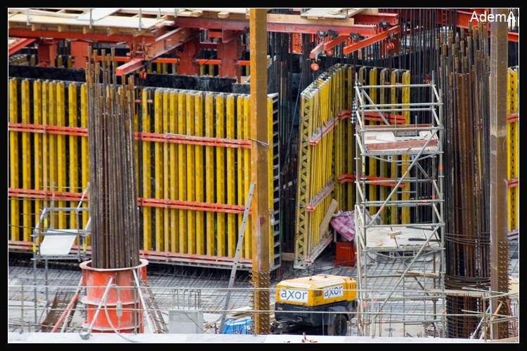 Torre Iberdrola Obras Enero 09 AdemA