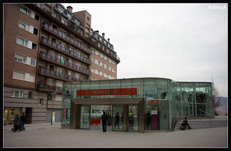 Estación Cercanías Miribilla AdemA 2009