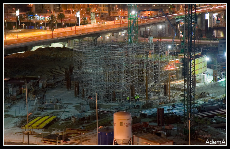 Torre Iberdrola Obras Febrero 2009 AdemA