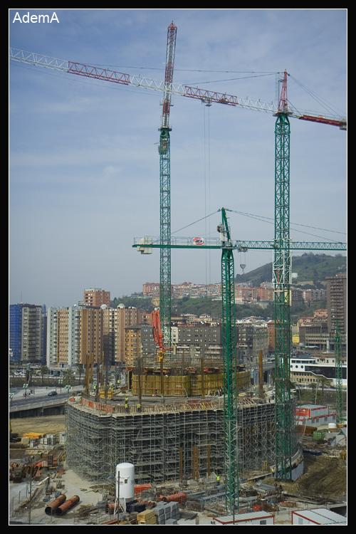 Obras Torre Iberdrola Marzo 2009 AdemA