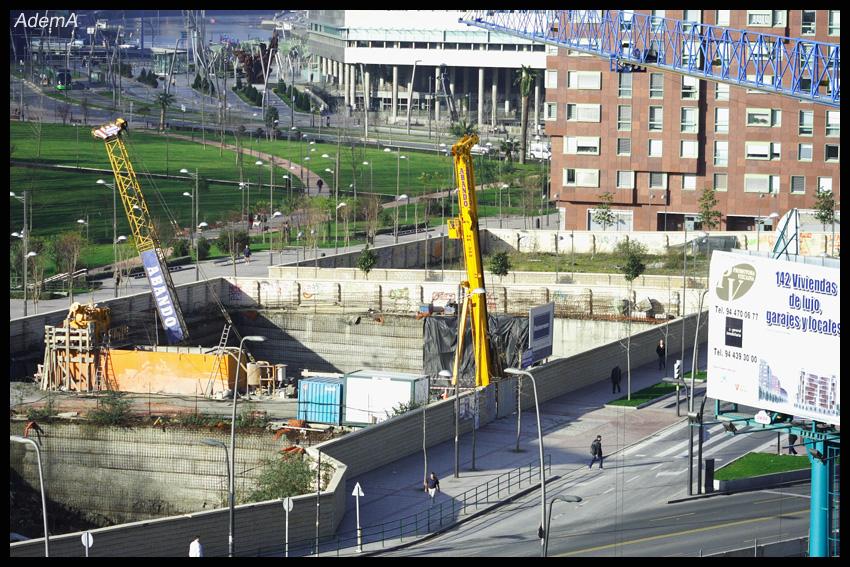 Obras Torre Iberdrola AdemA