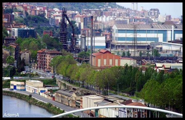 Vistas de la Vega de Galindo desde Erandio, AdemA 2008