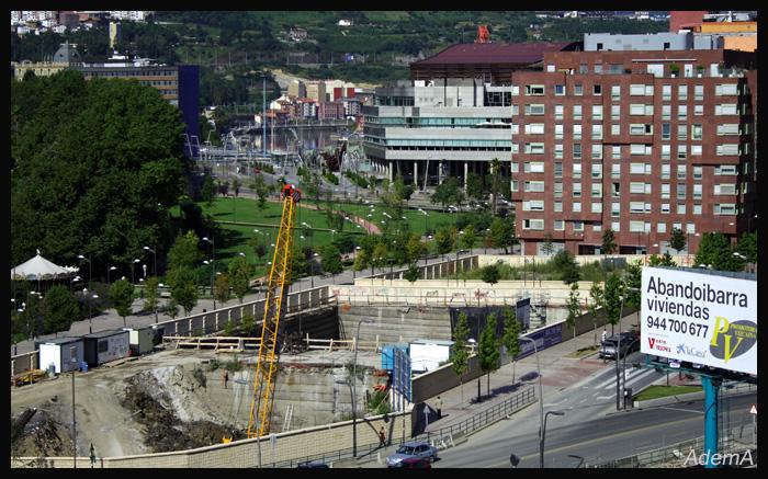 Obras Torre Iberdrola Principios Agosto 08  AdemA