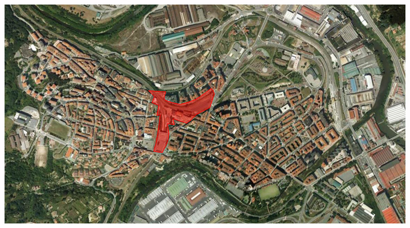 Masterplan Basauri Google Earth
