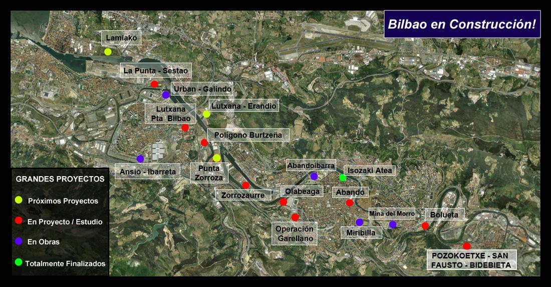 Masterplan 2 Basauri Google Earth Bilbao en Construcción!!