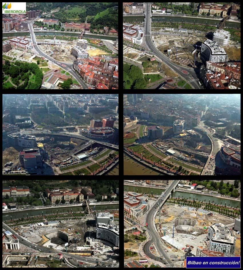 Torre Ibedrola Obras Evolución