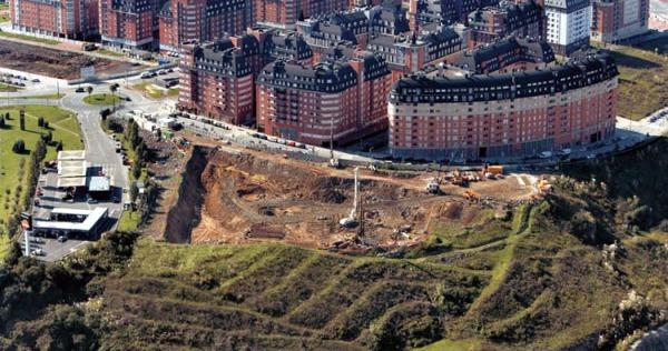 Obras Bomberos y Policía Bilbao Ría 2000