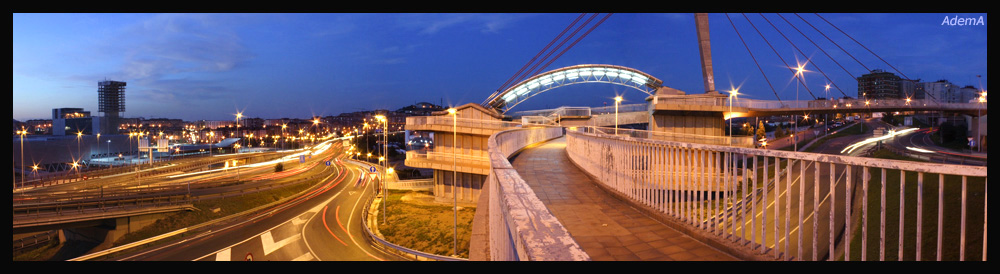 AdemA Autovía Nudo de Cruces Barakaldo Bilbao en Construcción!