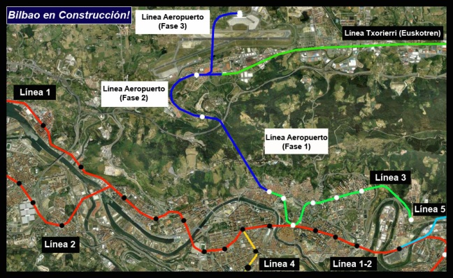 Plano Conexión Aeropuerto AdemA Google Earth