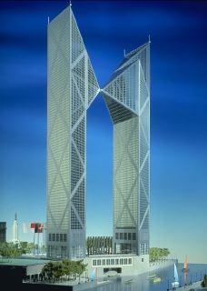Antiguo proyecto de los 90 del WTC Bilbao en Euskalduna