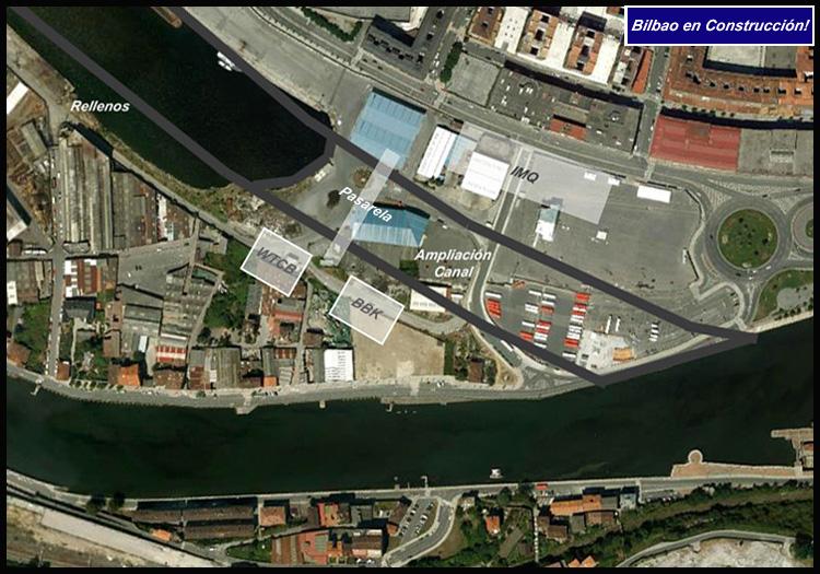 Zorrozaurre Sur Google Earth Bilbao en Construcción!