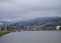 Vista del Canal de Deusto desde Elorrieta Fuente: @borjagomezfotografia
