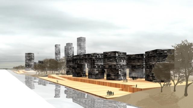 Propuesta de Coll Barreu Arquitectos para Lamiako