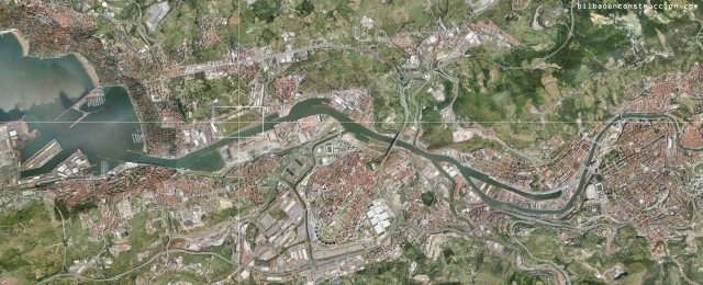 Localización de Lamiako en el Bilbao Metropolitano