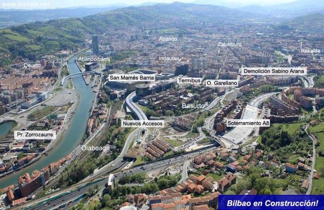 Reordenación de Basurto. bilbaoenconstruccion.com y bizkaia.net