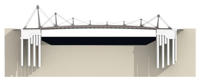 Puente de Zorrozaurre. Arenas y Asociados.