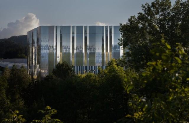 Laboratorio Ultra Alta Tensión Arteche en Mungia. ACXT. Fotografía: Aitor Ortiz