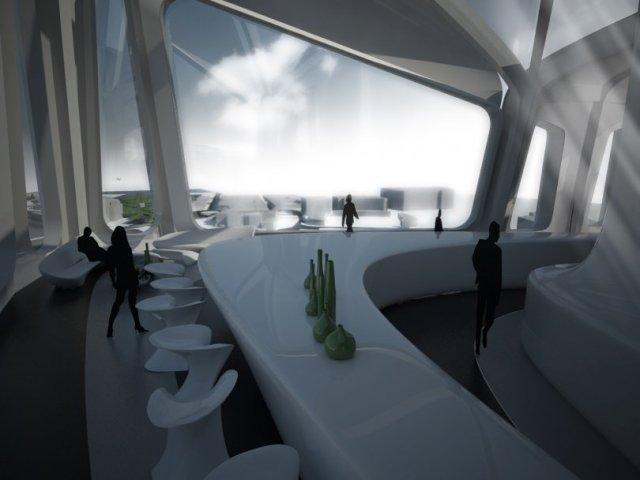 Torre BBK en Zorrozaurre. Zaha Hadid.