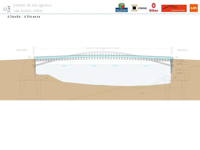 Puente entre Zorrozaure y San Ignacio, LKS www.zorrotzaurre.com