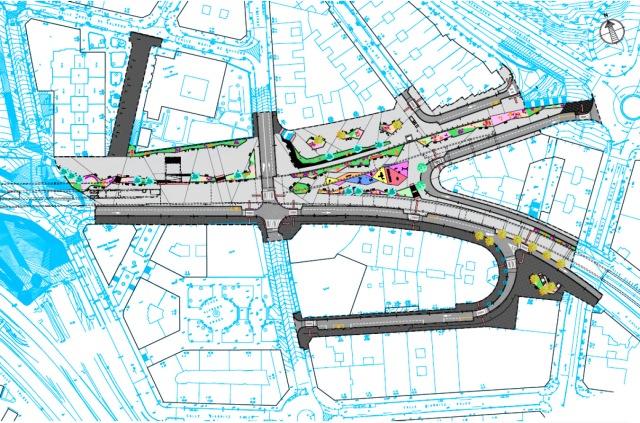Urbanización de la Cubierta del soterramiento de FEVE entre Basurto y Rekalde