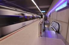 Estación de Casco Viejo, Línea 3 de metro de Euskotren. borjagomezfotografia.com