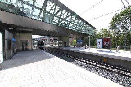 Estación de Kukullaga, Línea 3 de metro de Euskotren. borjagomezfotografia.com