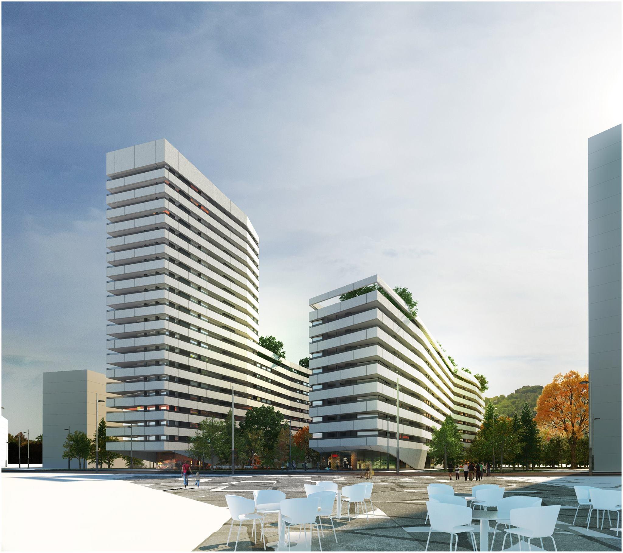 Bolueta homes as ser el nuevo rascacielos de neinor en bilbao bilbao en construcci n - Estudios arquitectura bilbao ...