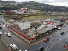 Vista de la zona de apertura del canal Fuente: Eneko Elexpuru