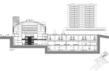 Sección de la Nueva Estación de Abando. Bilbao.eus